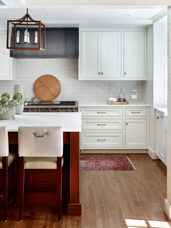 , Stunning Transitional Kitchen From Atlanta Interior Designers With Modern Dining Furniture Also Charming White Kitchen Cabinet Also Brown Laminate Floor Also Unique Lantern Design: Atlanta Architects – The Guide to Realize Atlanta House Decor