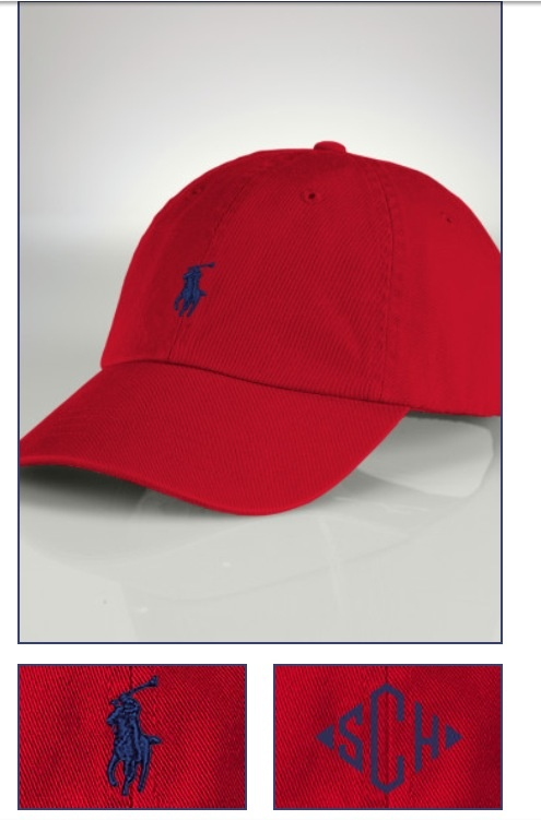 Create your own Polo hat