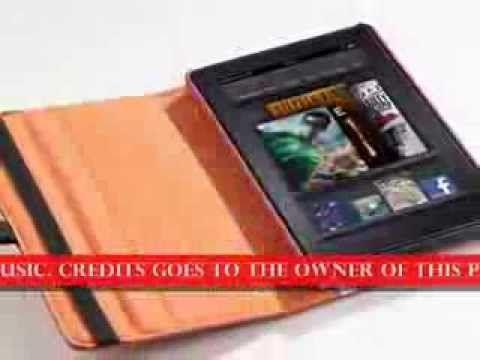 http://youtu.be/NG-BkbadeKg Orange/Navy Blue Pandamimi ULAK(TM) 360 Rotating Stand PU Leather Case A...