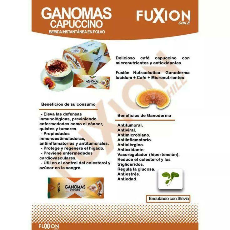 Delicioso café #capuccino sin cafeína ni azúcar, con micronutrientes y antioxidantes. Más info: www.bebidasfuxion.es / info@bebidasfuxion.es