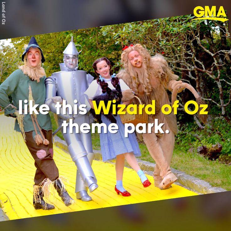 Follow The Yellow Brick Road To This Oz Theme Park Open