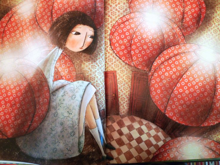 "Manuela Adreani illustration for ""Alice in Wonderland"", White Star Publishers."