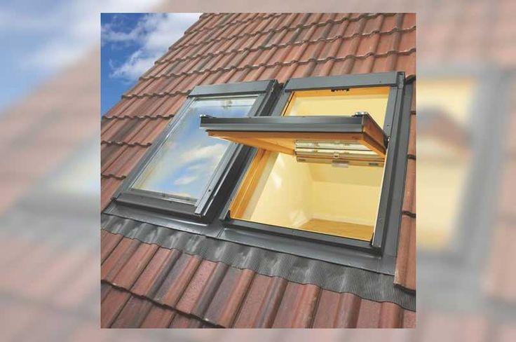 New Velux windows with double Roman concrete tiles - York