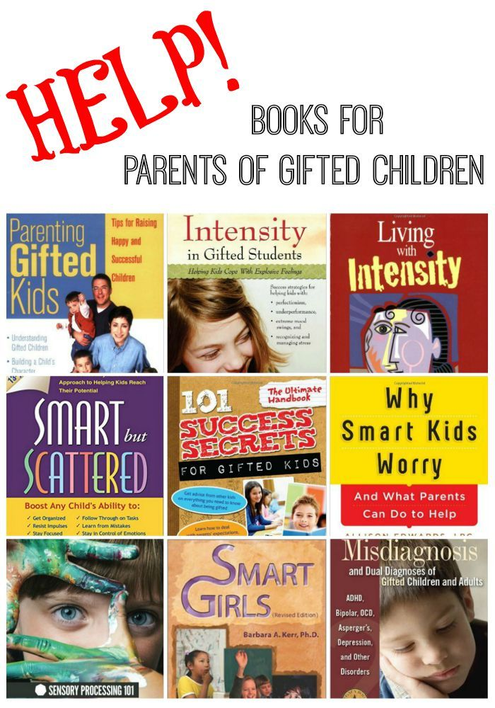 Books for parents of gifted children