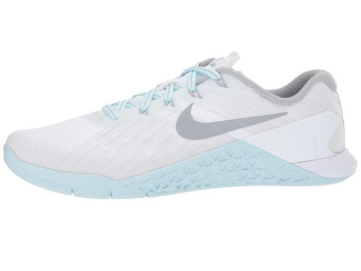 Nike Metcon 3 Reflect Women's Cross Training Shoes White/Reflect Silver/Glacier Blue