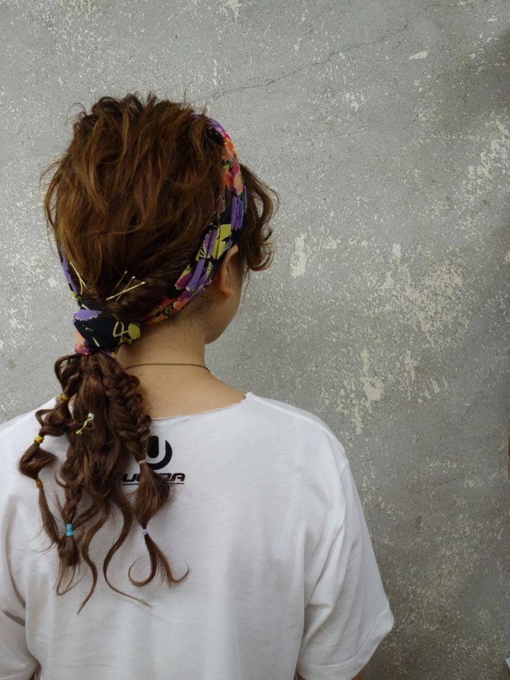 hair arrange✂︎