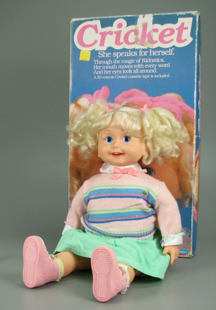Cricket talking doll