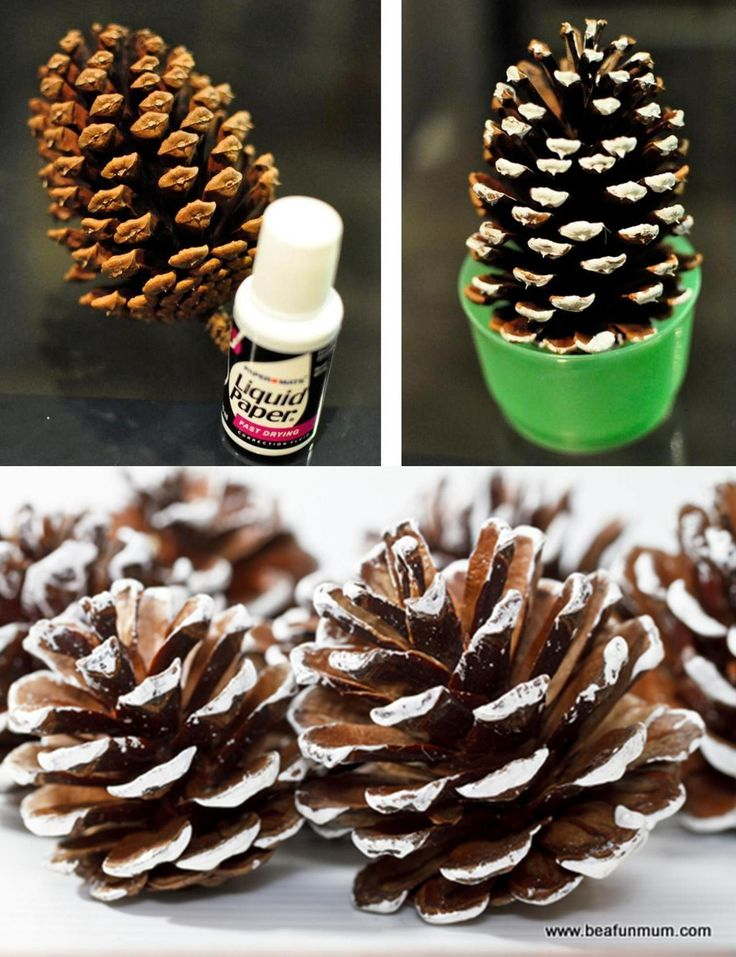 66 best images about christmas crafts on pinterest for Pine cone tree decorations