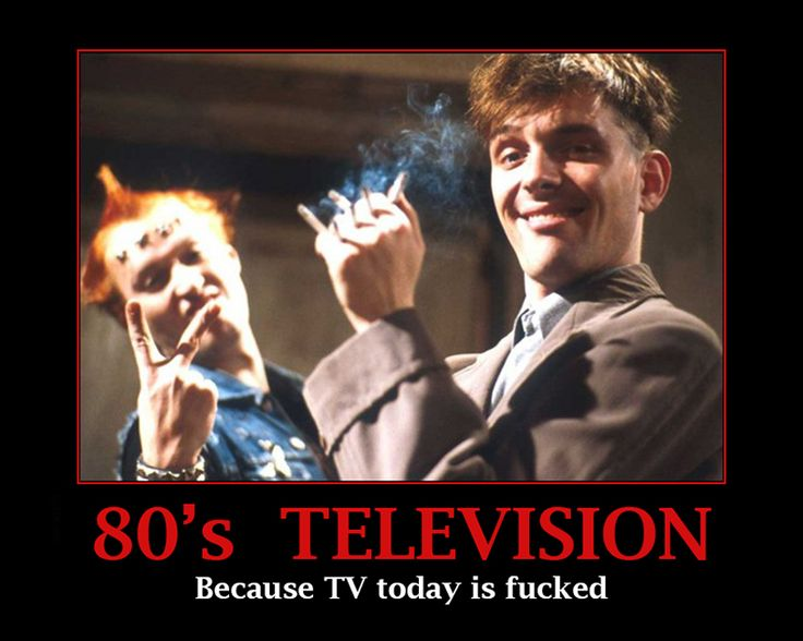 The Young Ones ~ 80s TV ~ Demotivational
