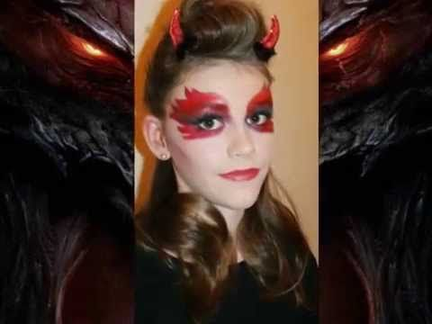 Fasching Teufel / Devil Make up Pictures - YouTube