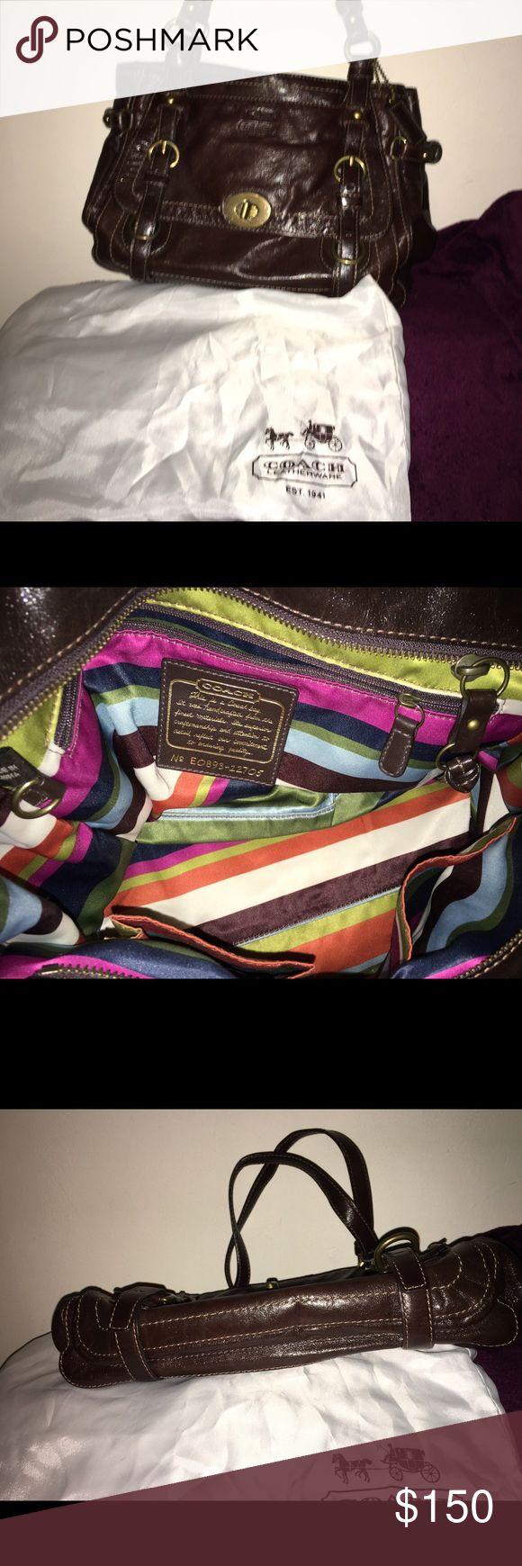 Coach LEGACY GARCIA  Brown Leather Bag Purse. Brand new Authentic Coach Leather Bag Purse. Coach Bags Shoulder Bags