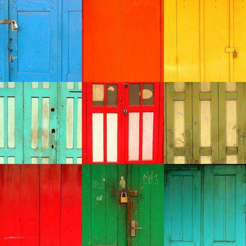 doors in yogja, Indonesia