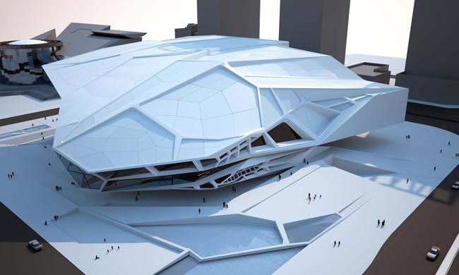 TOM WISCOMBE ARCHITECTURE - Shenzhen Museum of Contemporary Art