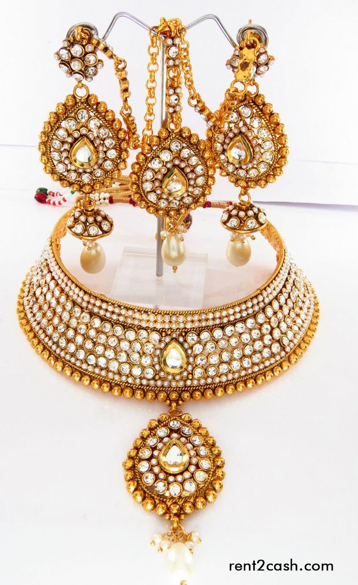 Every lady wants to look gorgeous at her wedding and for that they spends huge money on jewelries. Renting a jewelry from rent2cash from now onwards could save lots of your money & would help you to get the gorgeous look for which you're dreaming.
