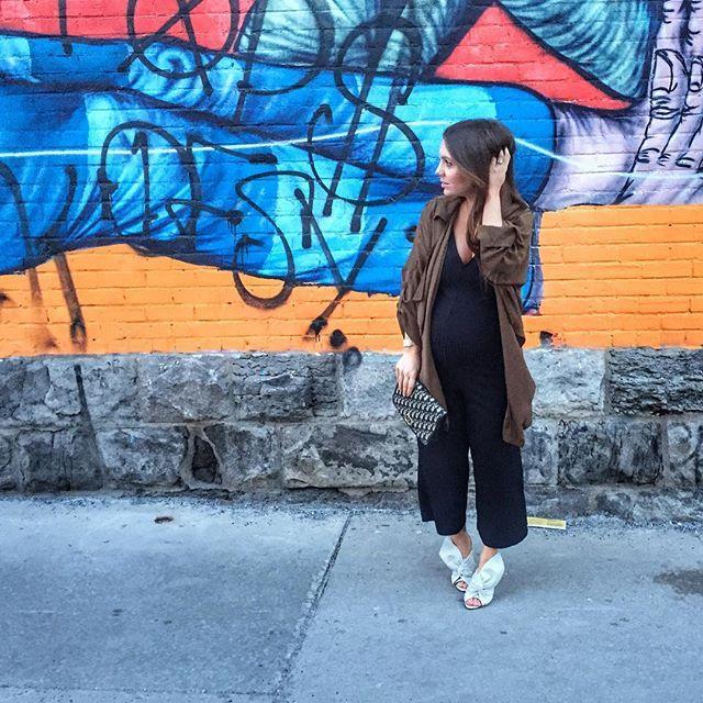 Photo by @melissasoldera - Preggo craving night out . . . #melsfashionedit #youtuber #fashionvlogger #melsoldera #ootd #36weeks #montreallife #dressthebump #melsfashionedit #melsolderapreggostyle #dior #readytopop