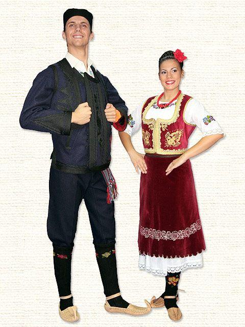 Serbian Folk Costume Srpska Narodna Nosnja