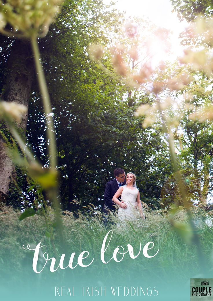 Irish Louise married Scottish Gavin in the green Wicklow scenery. A sunny day in Tulfarris Hotel. Take a look at their real Irish wedding.