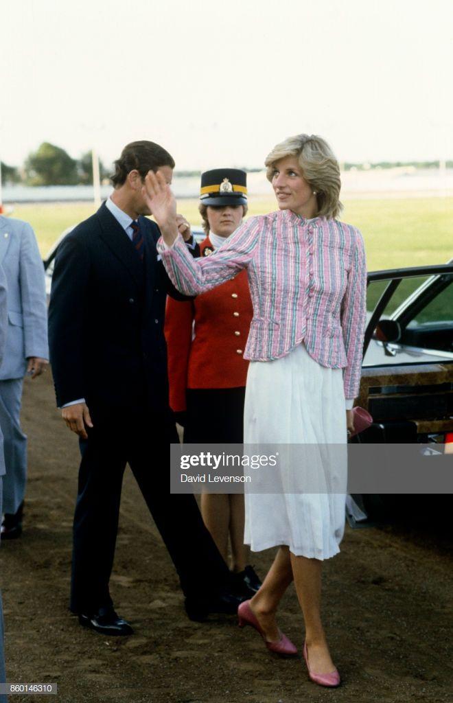 Diana Princess Of Wales And Prince Charles Visit Charlottetown Princess Diana Pictures Princess Diana And Charles Princess Diana