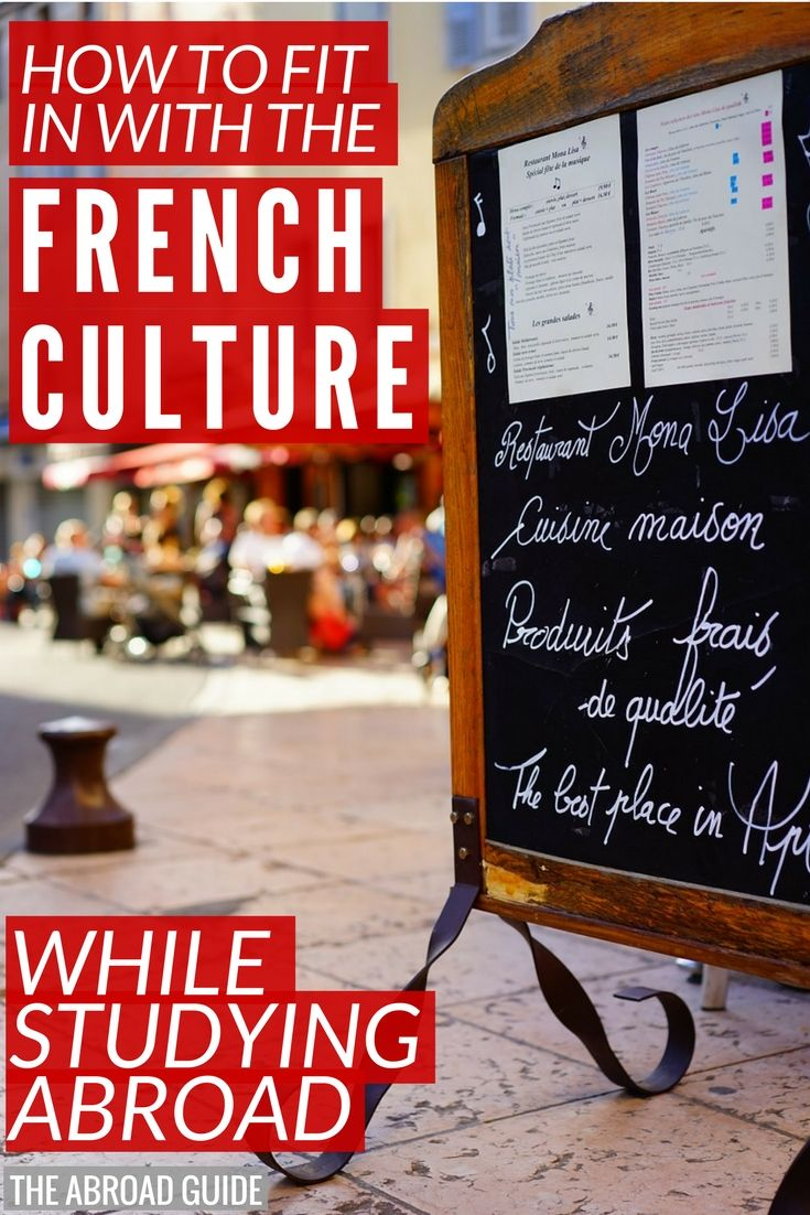 If you're studying abroad in France, then these are must-read tips on how to assimilate to the French culture and make sure you're fitting in with the French while you're abroad.