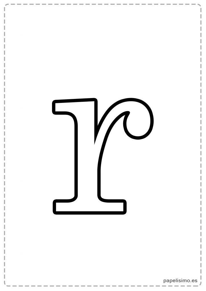 Results for Letra R Minúscula Para Colorear