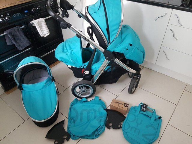 OYSTER MAX 2 DOUBLE PRAM For Sale in Middleton, Manchester, Lancashire | Preloved