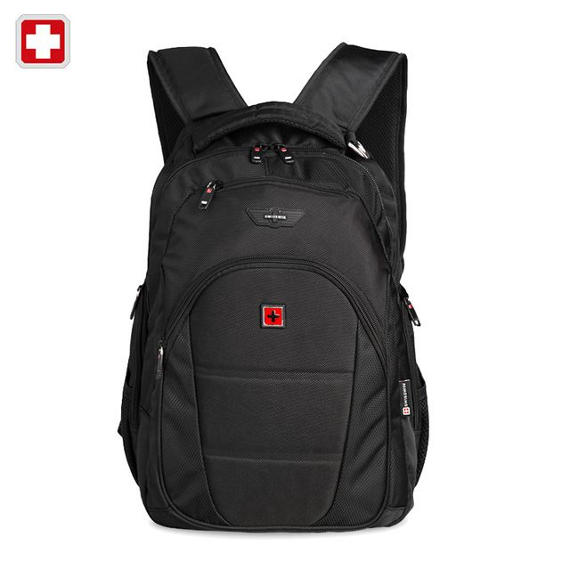 We love it and we know you also love it as well Swisswin men backpack mochilas swissgear men's backpacks 12-15.6 Inch black laptop backpacks for teenage boy mochilas hombres just only $34.20 with free shipping worldwide  #backpacksformen Plese click on picture to see our special price for you