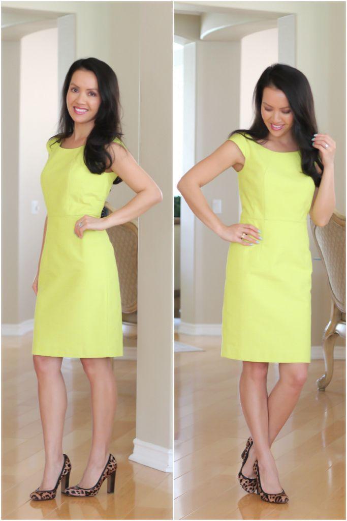 StylishPetite.com | Review: Ann Taylor   J.Crew   Banana Republic Petite Spring Dresses
