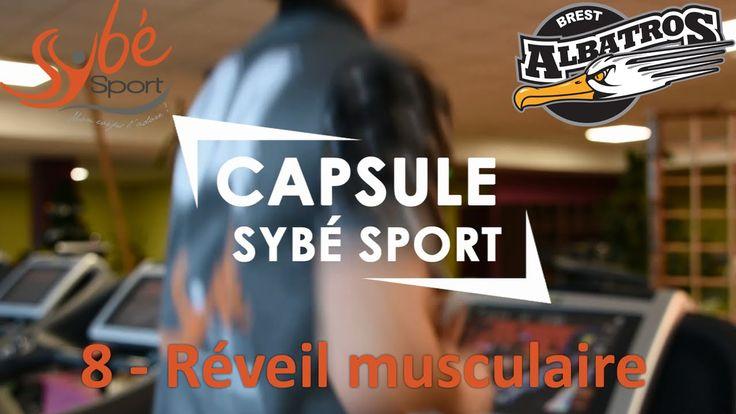 REVEIL MUSCULAIRE - 8ème séance d'entraînement avec Yann, joueur de l'équipe de hockey Les Albatros Brest partenaire de la salle de fitness à #Brest http://www.sybe-sport.com