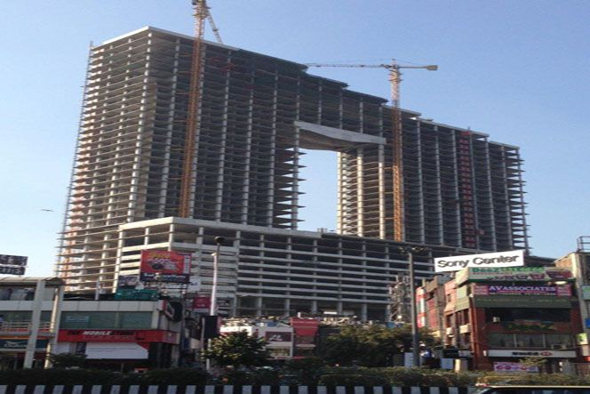 Wave Metro Mart or Wave One in Noida...