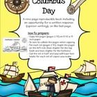 Use this nine page reproducible book to teach your students about Christopher Columbus' famous voyage in 1492. The pages are designed in black and...