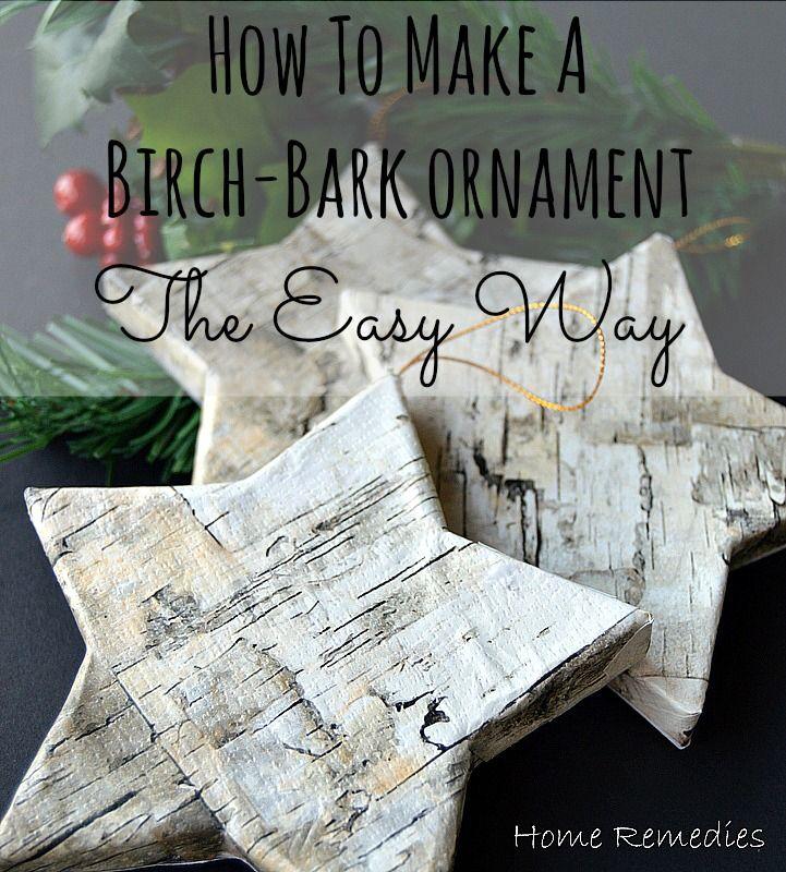 Natural Christmas Ornaments To Make