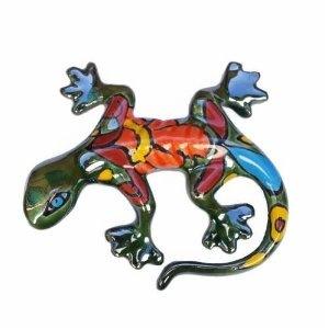 Talavera Lizard, 5 inch Long, Assorted Colors