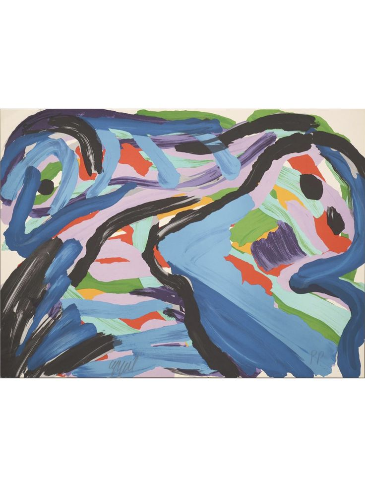 Lithograph by Karel Appel