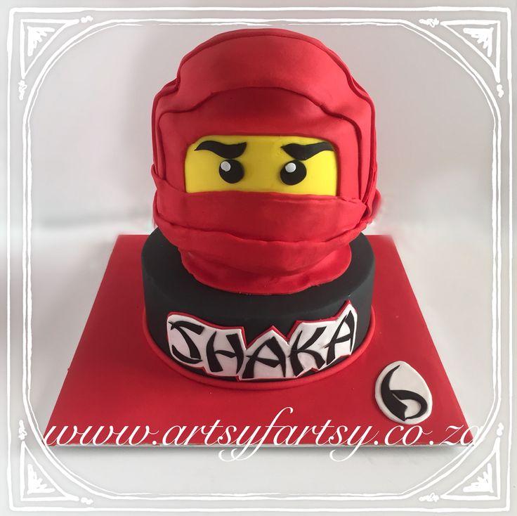 Ninjango Lego Cake #ninjangolegocake