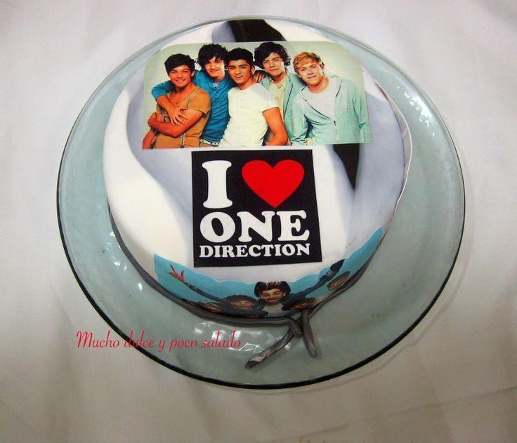 tarta one direction, tarta fondant