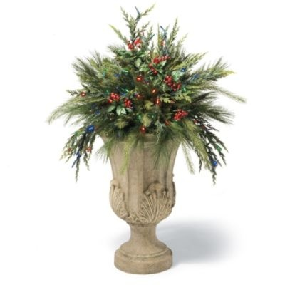 Cordless Urn Filler Christmas Pinterest