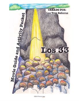 Los 33 is a great movie for the classroom! Our activities are in Spanish and English. The film in based on the true story of the trials that the 33 Chilean miners experienced in the 2010 mining accident, and the strength they demonstrated throughout the ordeal.
