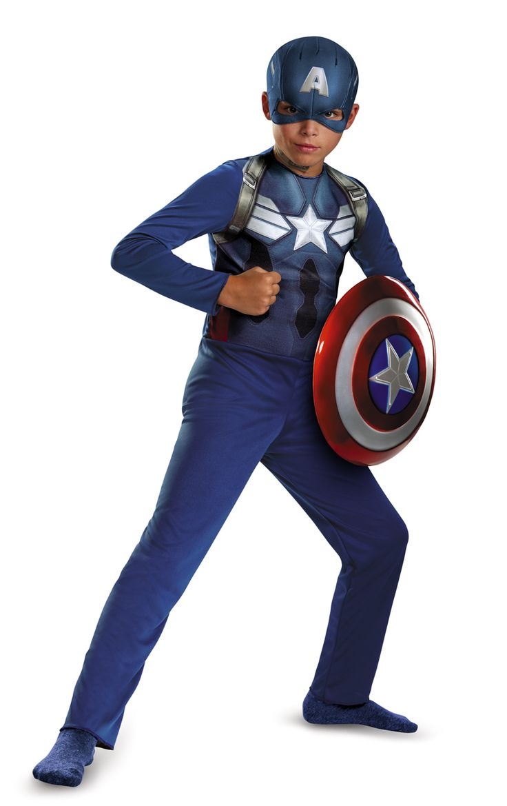 Cool Costumes Captain America Movie 2 Basic Child Costume just added...
