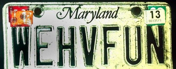 What Drives People to Take Vanity Licence Plates? - WSJ