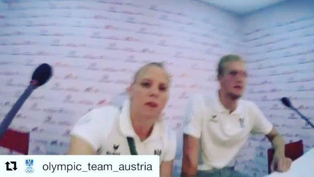 #Repost @olympic_team_austria with @repostapp  Spritzig lustig gut gelaunt - unsere Schwimmer beim Medientermin im Austria House #olympics #rio2016 #austriahouse #schwimmen #swimming #media #talk #interview #fun #wirhabeneinziel