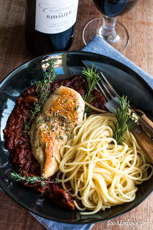 Poulet à la Cacciatore - Food for Love