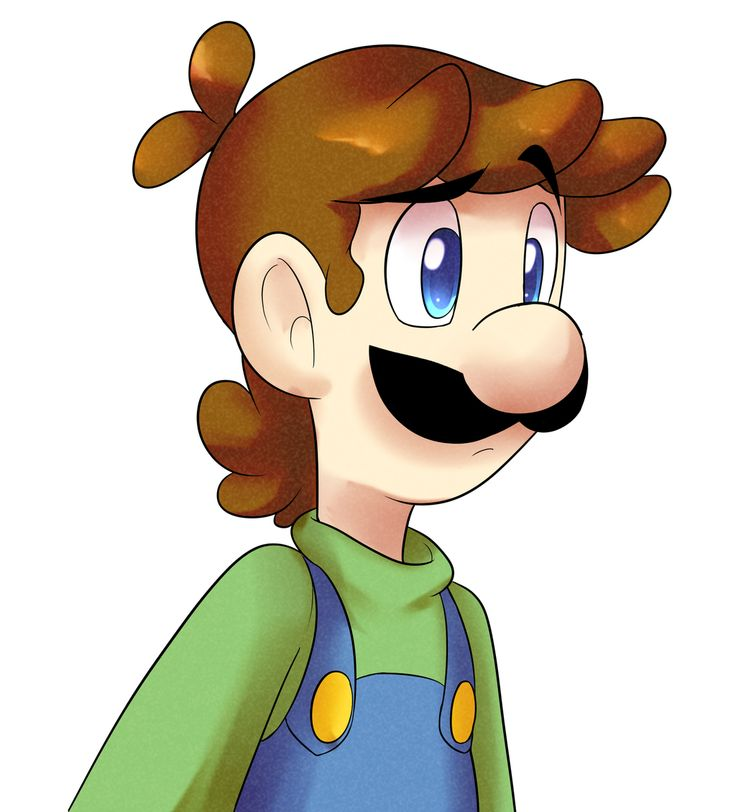Luigi doodle by PheonixBirdofFIre46.deviantart.com on @DeviantArt