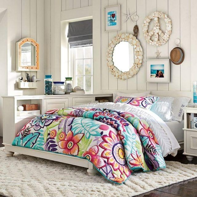 61 best chambre blanche pour fille images on Pinterest | Bedrooms ...