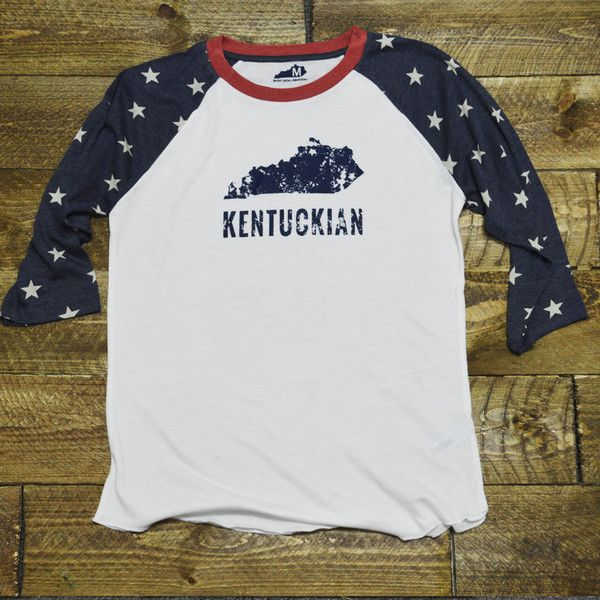 Star Spangled Kentuckian Raglan