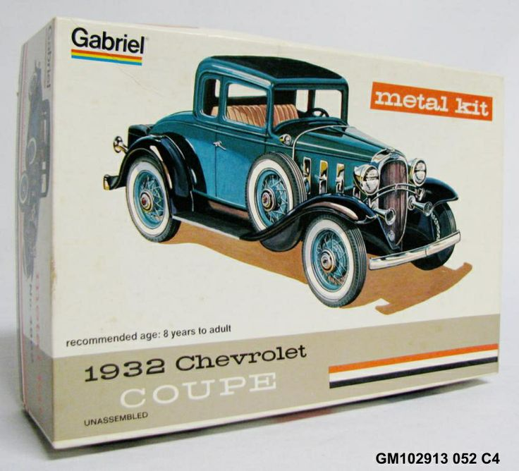 Vintage plastic model car kits for sale