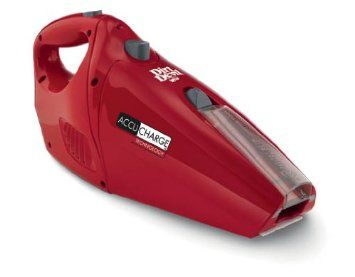 like it 10 Dirt Devil BD10045RED AccuCharge 156 Volt Hand Vac with ENERGY STAR Battery Charger Red