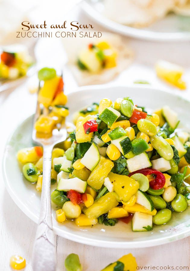 Sweet and Sour cukety polníčku - Balíčky s velkými tučnými chutí a tuny krize!  Zdravé, lehké a ne jen další salát!