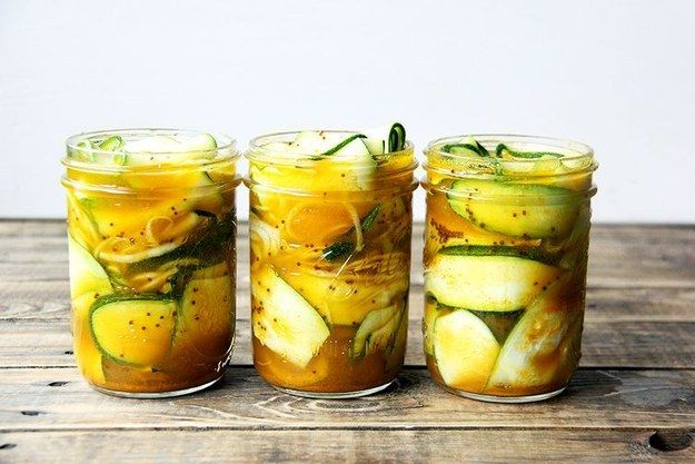 Zucchini Pickles | 31 Delicious Things You Need To Cook In August