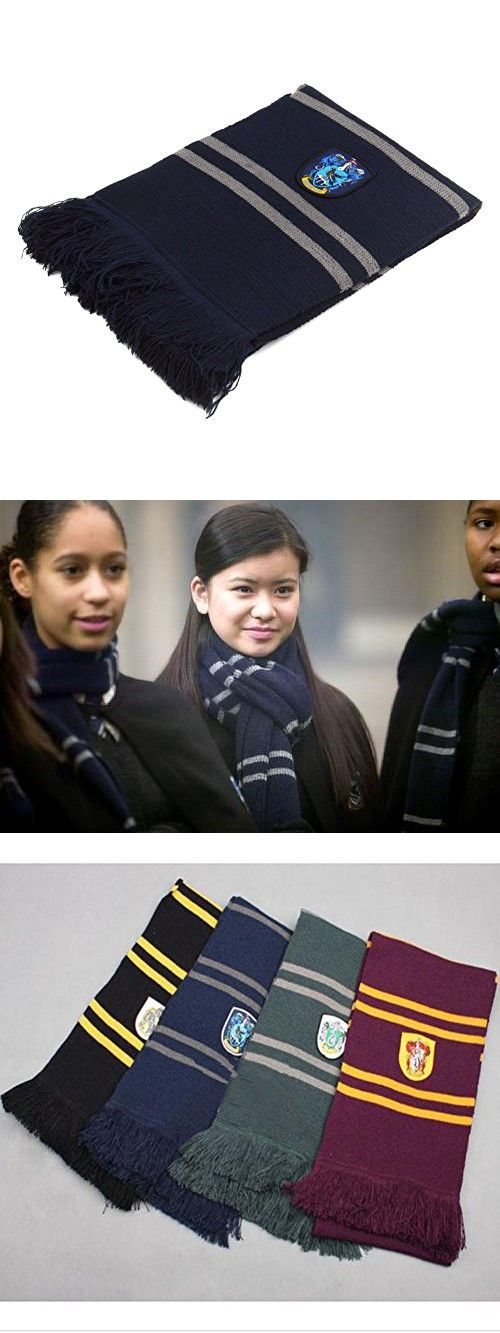 I'MQueen Hogwarts House Scarf Ravenclaw Harry Potter New Scarves for Boys Girls