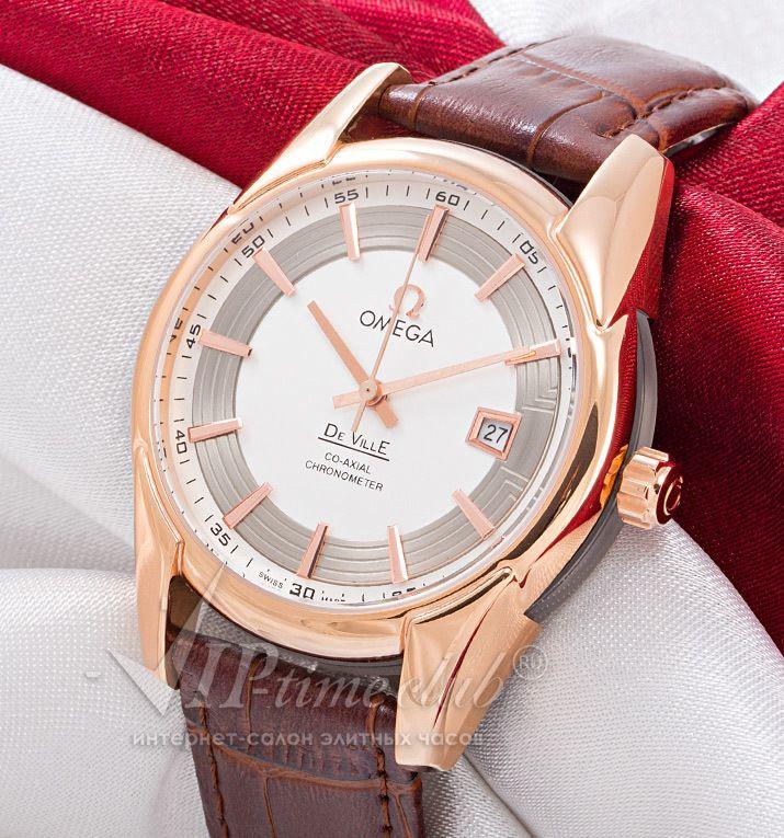 Реплика часов Omega De Ville Hour Vision, купить в интернет магазине viptimeclub.ru. Каталог цен на реплики часов с отзывами